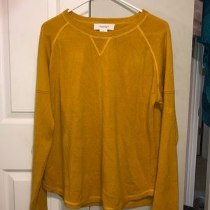 WORKshop republic yellow sweatshirt